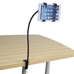 EKoo desk bolt clamp mount bracket holder ipad 2 3 generation tablet 7 -10 PC holder,Universal Lazy Bed Desktop Car Mount Kit Holder for Tablet PC, iPad mini iPad2/3/4 (For ipad)