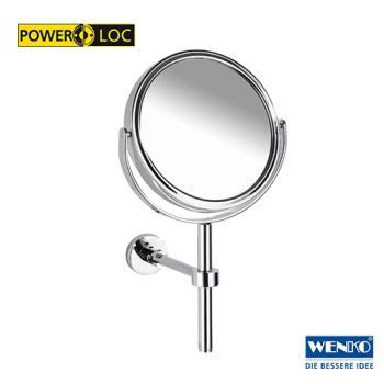 WENKO Kosmetik-Hand- und Wandspiegel Elegance Power-Loc