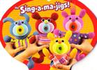 Fisher Price Sing-A-Ma-Jigs Singing Plush Toys
