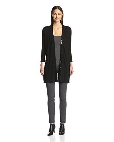 Magaschoni Women's Long Cardigan