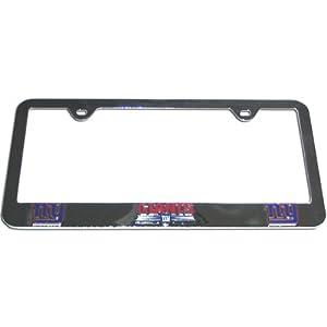 New York Giants - NFL License Plate Tag Frame