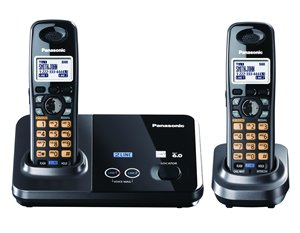 Panasonic Consumer - 2 Line Cordless Dect 6.0 Dual Hs