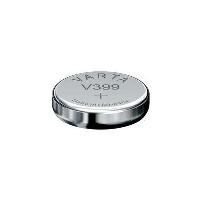 VARTA Lot de 5 piles oxyde argent pour montres V399 (SR57), High Drain