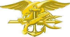 3.8 US Navy Trident Seal Decal Sticker us navy uss carl vinson cvn 70 supercarrier 5 inch patch d19