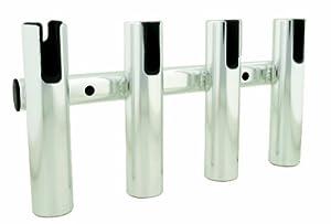 Taco Metals Aluminum 4-Rod Rack, Brushed by Taco Metals