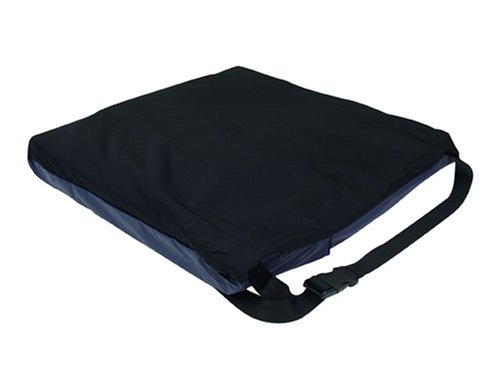Duro-Med DuroGel II Deluxe Gel-Foam Wheelchair Cushion, Black, 16 Inch x 16 Inch x 2-1/2 Inch