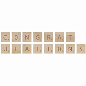 Wooden Letter Words-Congratulationskaisercraft-Wooden Letters. These ...