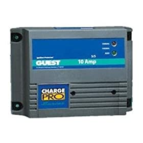 Guest 2611A Charge Pro Series Marine Battery Charger (12/24-Volt, 10-Amps 5/5, Double Output)