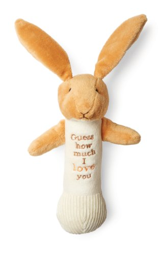 Kids Preferred Guess How Much I Love You: Nutbrown Hare Stick Rattle