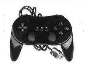 New Classic Pro Controller For Nintendo Wii Black