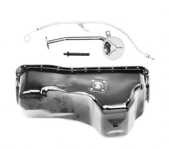 6 Quart Includes Rear Sump Ford Racing M6675A460 Oil Pan Kit