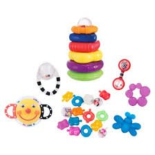 Sassy 21-piece teether and toy gift set great for new baby's*