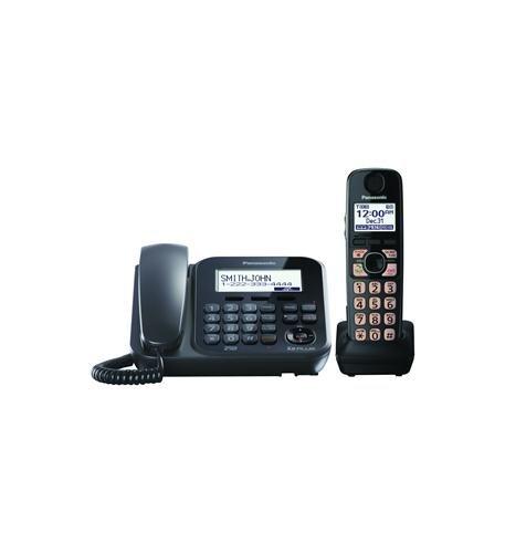 Panasonic KX-TG4771B Dect_6.0 1-Handset 1-Line Landline Telephone