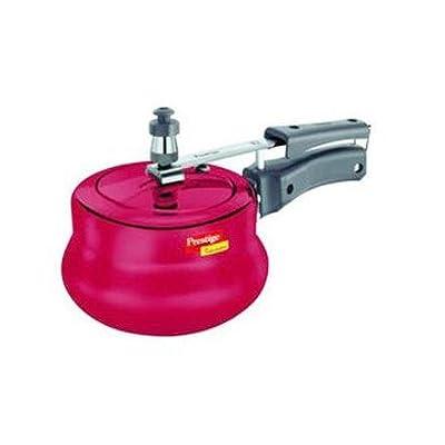Prestige Nakstra Hard Anodized 5-Litre Pressure Cooker (Red)