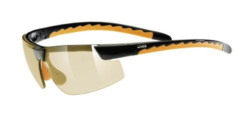 UVEX Fahrradbrille active small white-brown