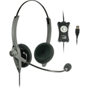 Vxi Talkpro Usb2 Headset. Vxi Talkpro Usb2 Headset Ph-Hd. Stereo - Usb - Wired - Over-The-Head - Binaural Snr - Semi-Open - Noise Cancelling Microphone