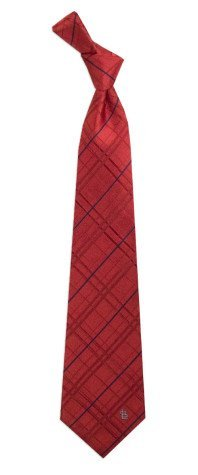 Mens St. Louis Cardinals Oxford Pattern Woven Silk Tie at Amazon.com