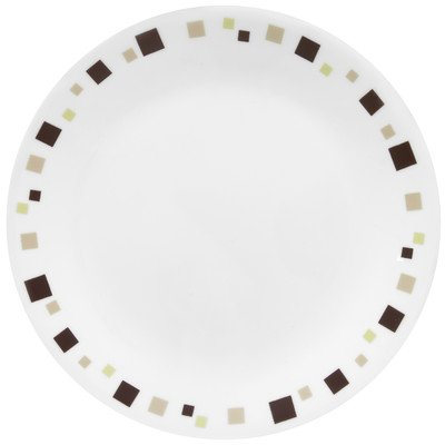 Corelle Livingware 8-1/2-Inch Luncheon Plate, Geometric