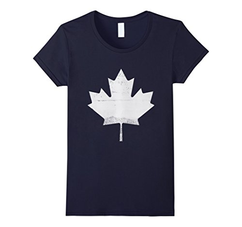 womens-canadian-pride-vintage-retro-style-canada-flag-t-shirt-large-navy