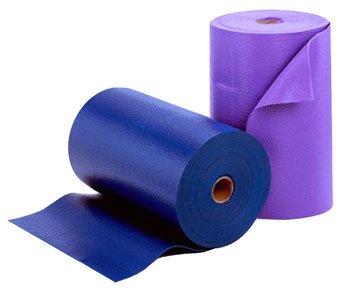 YogaAccessories 1/8'' Classic Yoga Mat Roll  - Slate Blue