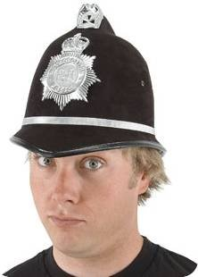Adult British Bobby Costume Helmet