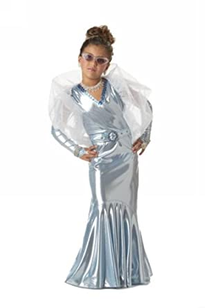 California Costumes Glamorous Movie Star Child Costume