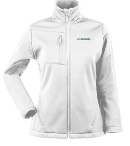 NCAA Oregon Ducks Traverse Jacket Ladies by Antigua