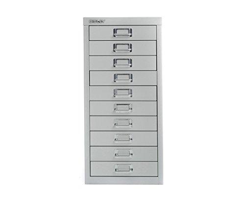 bisley-desktop-cabinet-10-drawer-h590xw279xd380mm-steel