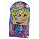 Disney Princess Cinderella Bath Mitt, Body Wash Cotton Candy Gift Set