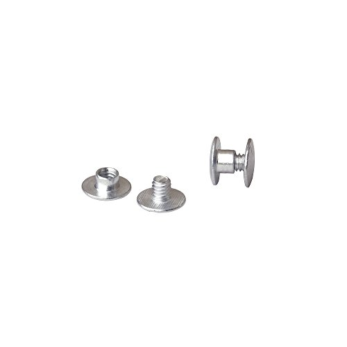 3/16 in. Aluminum Chicago Screws/Screw Posts (Qty 100 sets)