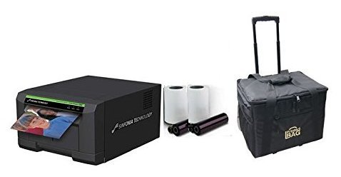 Sinfonia-CS2-Photo-Printer-for-Photo-Booths-BUNDLE-with-Rolling-Carrying-Case-and-box-of-media-600-prints