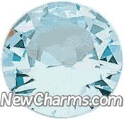 Round Birthstone March Floating Locket Charm from New Charms
