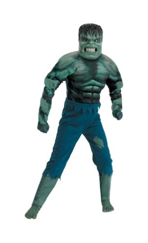 Hulk Muscle Costume - the Incredible Hulk Child Costume