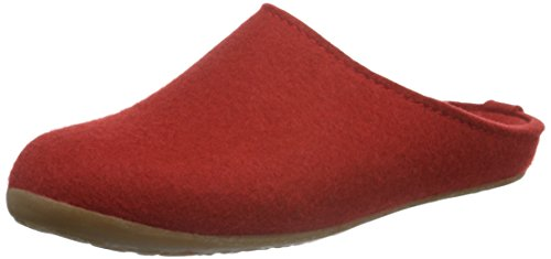 Haflinger Fundus, Pantofole donna Various, Rosso (Rot (Rubin 11)), 43 EU