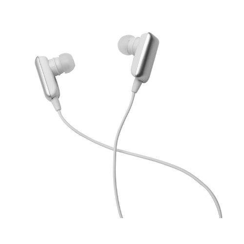 Glcon® Gs-03 Mini Silver Wireless Stereo Bluetooth Bt Headset Headphone Earphone Earpiece Earbud With Microphone Mic, A2Dp, Noise Cancellation, Music Remote Control, Great For Sports, Gym, Running, Exercises, With Apple Iphone 5/5S/5C, Iphone 4/4S, Ipad 1