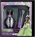 Princess & The Frog Gift Set (1.6 fl. oz. Eau De Toilette Spray + 2 oz. Body Glitter) Girl By Disney