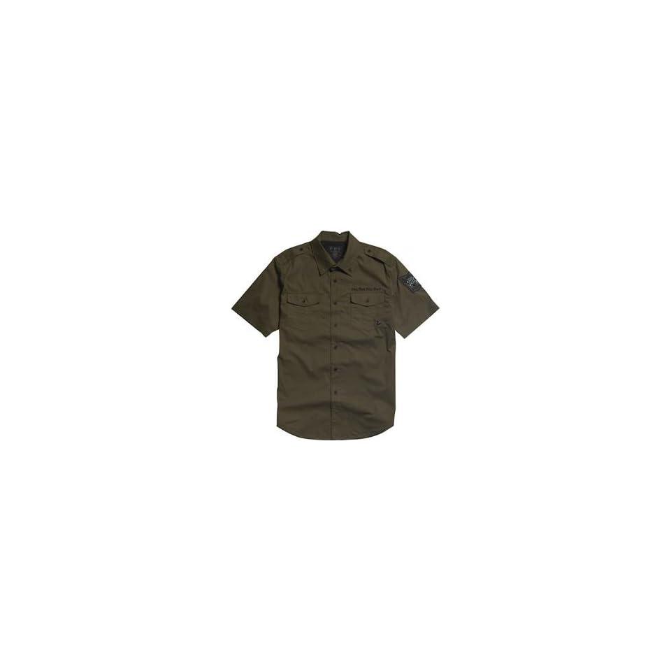 Fox Racing Enrique Shirt   Small/Military