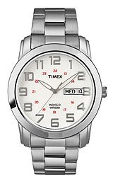 Timex Classics Bracelet White Dial Men's watch #T2N437
