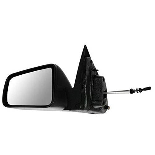 2008 2009 2010 2011 Ford Focus Manual Remote Cable Textured Black Non-Folding Fixed Rear View Mirror Left Driver Side (08 09 10 11) (09 Ford Focus Driver Side Mirror compare prices)