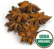 Anise Star Whole Organic - Illicium verum 1 lbStarwest Botanicals