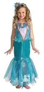 Little Mermaid - Ariel Prestige Child Costume Size 3-4T Toddler