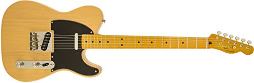 Squier by Fender Classic Vibe 50's Telecaster Electric Guitar - Butterscotch Blonde - Maple Fingerboard (Fender Classic Vibe 50 compare prices)