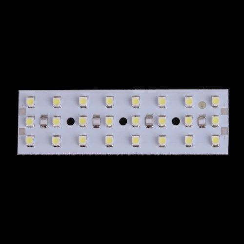 Vktech Super Bright 12V 24 Leds Smd3528 Lamp Energy Saving Panel Board (White Light)