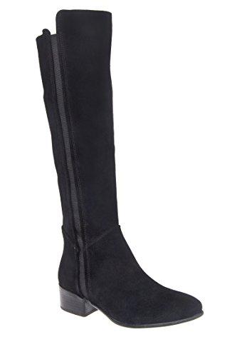 Pullon Low Heel Knee High Boot