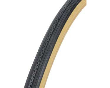 Bike | Bicycle Tire 27″ x 1 1/4″ Black/Gum