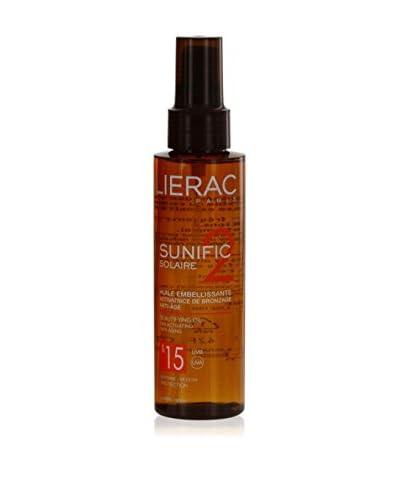 LIERAC Aceite solar Sunific 125 ml