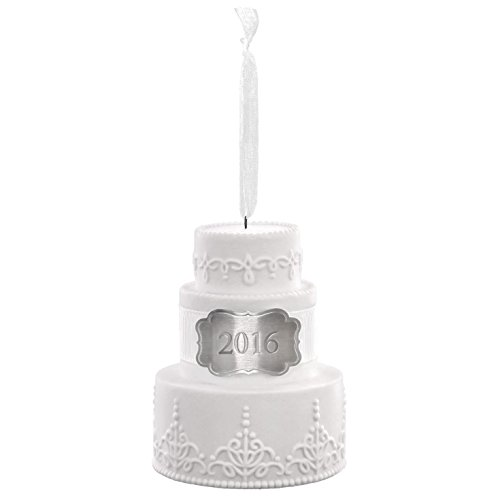 Hallmark 2016 wedding cake ornament