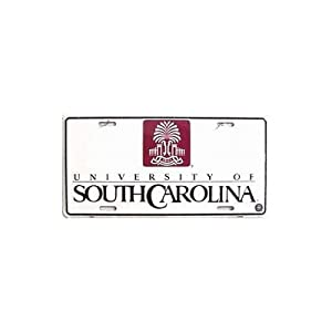 (6x12) University of South Carolina NCAA Tin License Plate