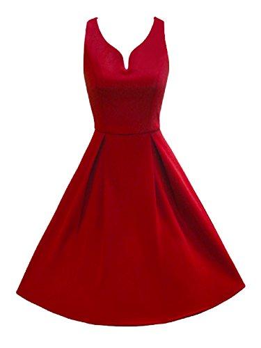 Shopping mit http://www.kalimno.de - LUOUSE 50er Retro Audrey Hepburn Schwing