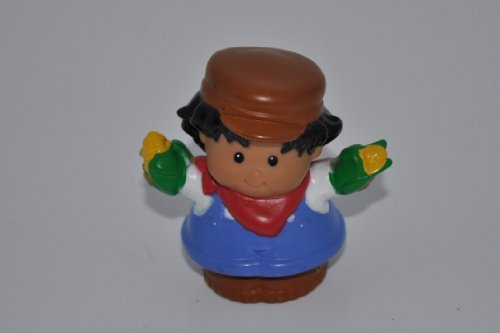 "Little People ""Farmer"" (with Corn in Hands) Replacement Figure - Fisher Price - 1"